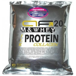 AF20 M&Whey пакет 1000 г