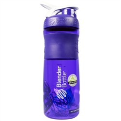 Sundesa, Sportmixer Blender Bottle, Grip Titan, Purple White, 28 oz
